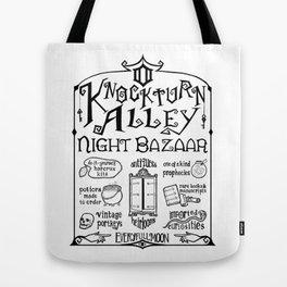 Knockturn Alley Night Bazaar Tote Bag