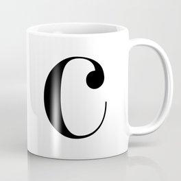 "Monogram Series Letter ""c"" Coffee Mug"