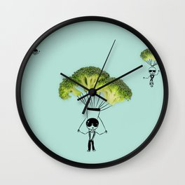 paratroopers Wall Clock