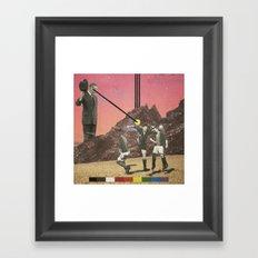 _Reach_ Framed Art Print