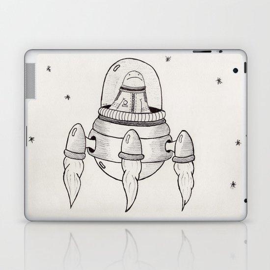 Invasor Malvado Laptop & iPad Skin