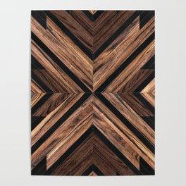 Urban Tribal Pattern No.3 - Wood Poster