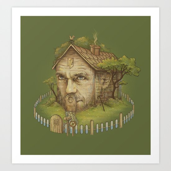 Dr. House Art Print