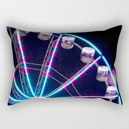 Night ride Rectangular Pillow