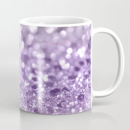 Purple Lavender Glitter #1 #shiny #decor #art #society6 Coffee Mug