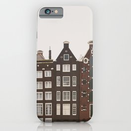 Amsterdam Crooked Row iPhone Case