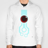 transistor Hoodies featuring The Paintbrush by Grimaldo