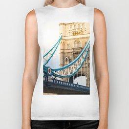 Rendezvous At Tower Bridge Biker Tank