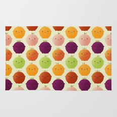 Cutie Fruity (Watercolour) Rug