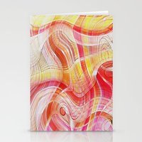 acid Stationery Cards featuring Acid by Fine2art