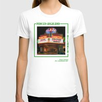 theatre T-shirts featuring Plaza Theatre by ATL Landmark Art (Robyn Siani)
