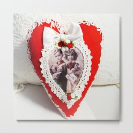Valentine's Day Heart Metal Print