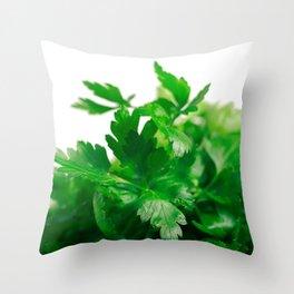 Parsley Throw Pillow