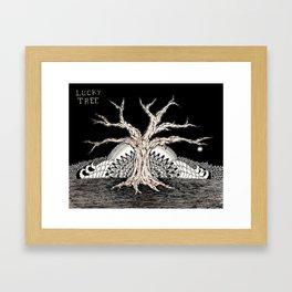 Lucky Tree Framed Art Print