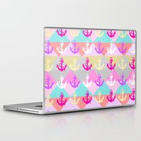 anchors Laptop & iPad Skins featuring Anchors by Ornaart