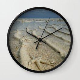 Starfish Beach Wall Clock