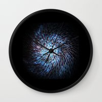 big bang Wall Clocks featuring Big bang by ochre7