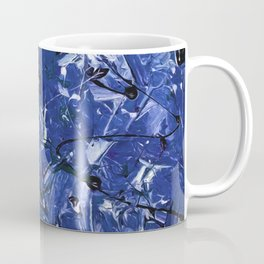 Blue Chaos Coffee Mug