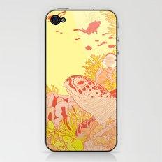 Blood Turtle iPhone & iPod Skin