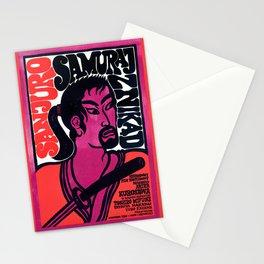 Seven Samurai - Vintage Polish Film Poster Stationery Cards