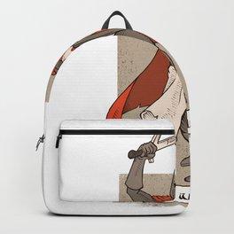 God wills it Backpack
