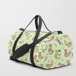 Spring geckos Duffle Bag