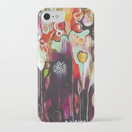 """""""Release Become"""" Original Painting by Flora Bowley iPhone Case"""