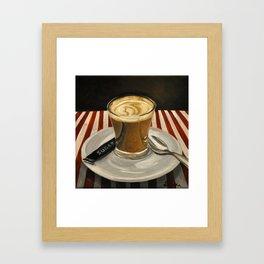 Cafe Cortado Framed Art Print