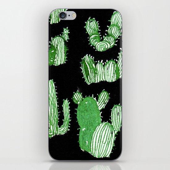 Cactus Beard Dude iPhone & iPod Skin
