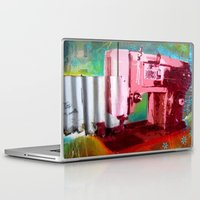 sewing Laptop & iPad Skins featuring Sewing Machine by Gabriel Prusmack and Sophia Buddenhagen