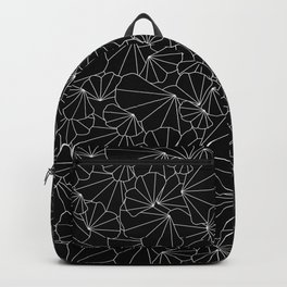 Simple Ginkgo Pattern Backpack