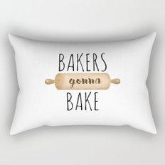 Bakers Gonna Bake Rectangular Pillow