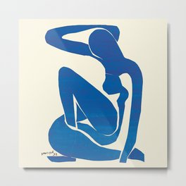 Blue  by Henri Matisse Metal Print