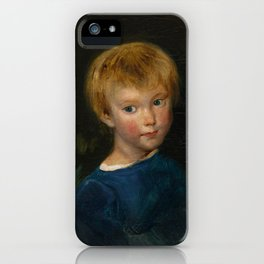 "Eugène Delacroix ""Marguerite-Juliette Pierret"" iPhone Case"