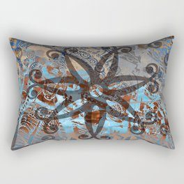 Ornaments Collage I Rectangular Pillow