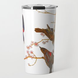 Red winged Starling, or Marsh Blackbird Travel Mug