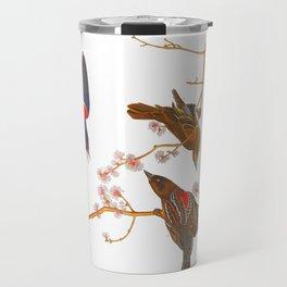 Red winged Starling, or Marsh Blackbird Travel Mug