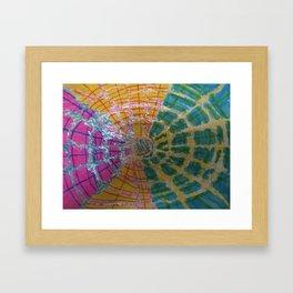 Colorful Vortex Framed Art Print