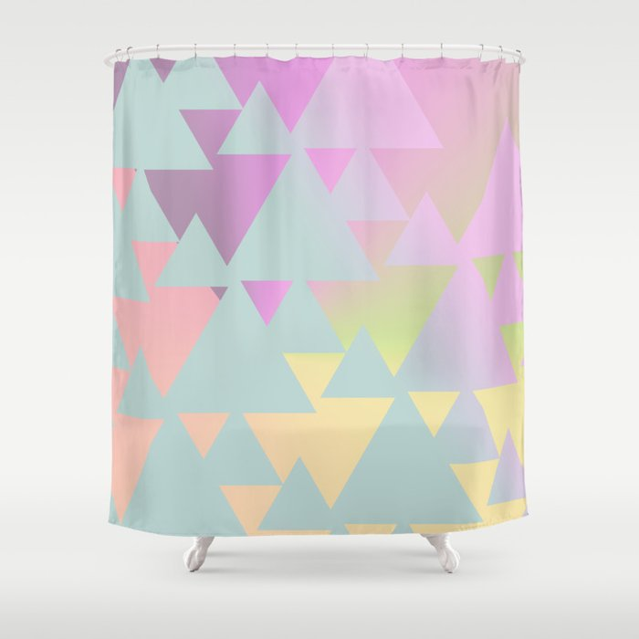 Mall Sunrise Shower Curtain By Intosunrise