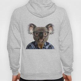 Hipster Koala Hoody