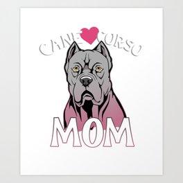 Mastiff Mom Gift Cane Corso Mom Italian Mastiff Product Art Print