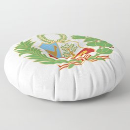 Peru Shield Floor Pillow