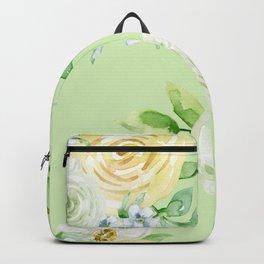 Pastel Floral Pattern 10 Backpack