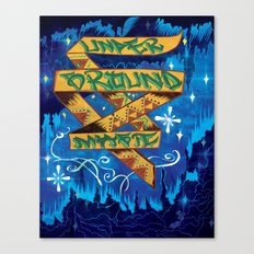 Underground Magic Canvas Print