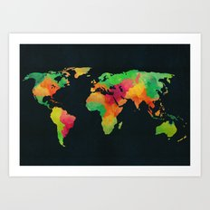 We are colorful Art Print