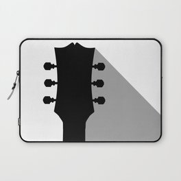 Guitar Headstock With Shadow Laptop Sleeve