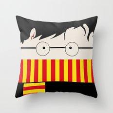 Hogwarts Witch  Throw Pillow