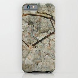 Egon Schiele - Autumn Tree in Stirred Air (Winter Tree) iPhone Case