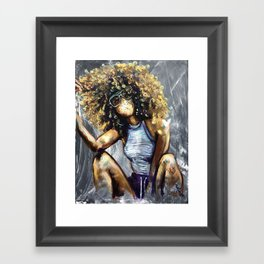 Naturally Nia Framed Art Print