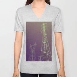 Can you hear me now? Unisex V-Neck